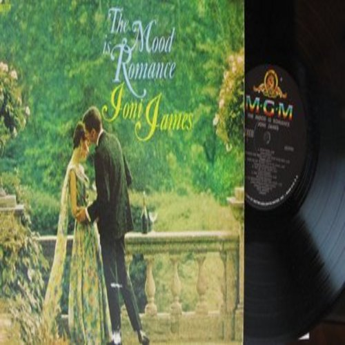 James, Joni - The Mood Is Romance: You Go To My Head, Here Comes Heaven, I Remember You, Between The Devil And The Deep Blue See (Vinyl STEREO LP record) - NM9/EX8 - LP Records