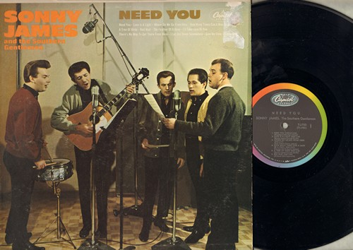 James, Sonny & The Southern Gentlemen - Need You: Where Do We Go From Here, The Feather Of A Dove, Timberline, I'll Take Care Of You (Vinyl MONO LP record) - NM9/VG7 - LP Records