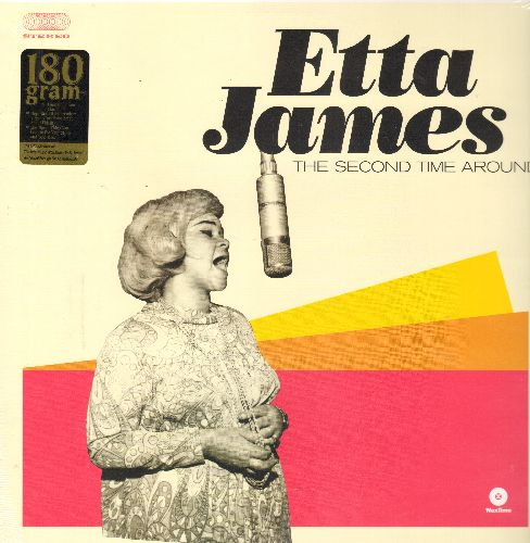 James, Etta - The Second Time Around: One For My Baby, Seven Day Fool, Plum Nuts, Dream (180 gram Virgin Vinyl re-issue, EU pressing, SEALED, never opened!) - SEALED/SEALED - LP Records