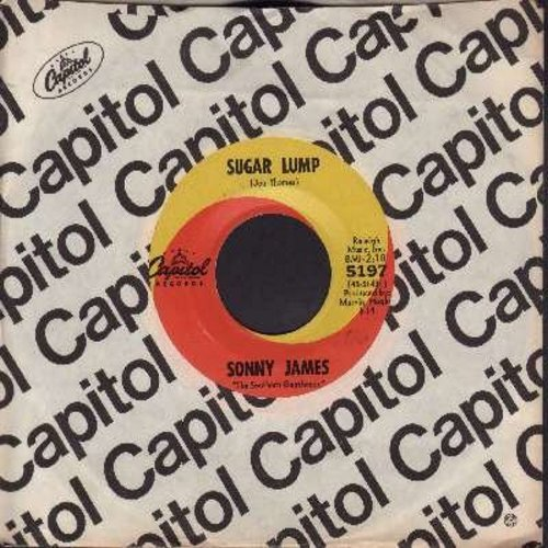 James, Sonny - Sugar Lump/Ask Marie (with Capitol company sleeve) - EX8/ - 45 rpm Records