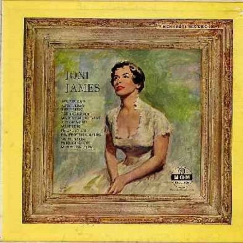 James, Joni - Joni James' Award Winning Album: You Are My Love, How Important Can It Be?, Wishing Ring, Purple Shades, Have You heard, Almost Always (vinyl MONO LP record yellow label, 1957 first issue) - NM9/VG7 - LP Records