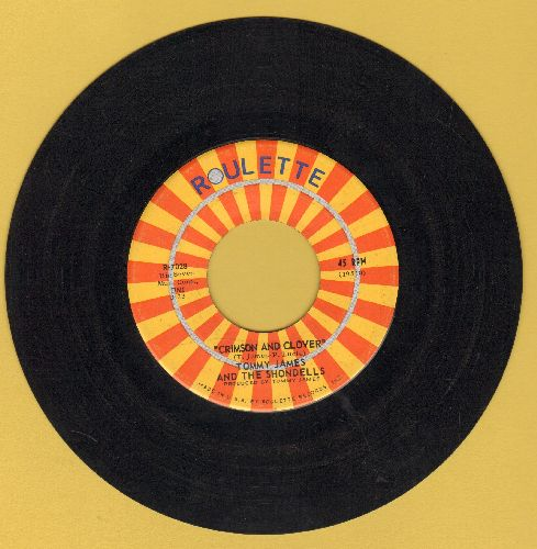 James, Tommy & The Shondells - Crimson & Clover/Some Kind Of Love  - EX8/ - 45 rpm Records