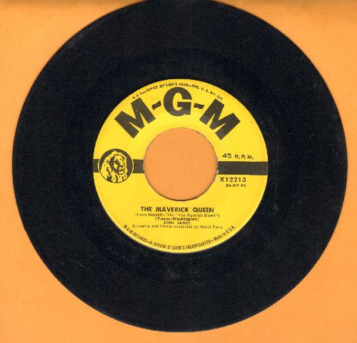 James, Joni - The Maverick Queen/I Woke Up Crying - EX8/ - 45 rpm Records