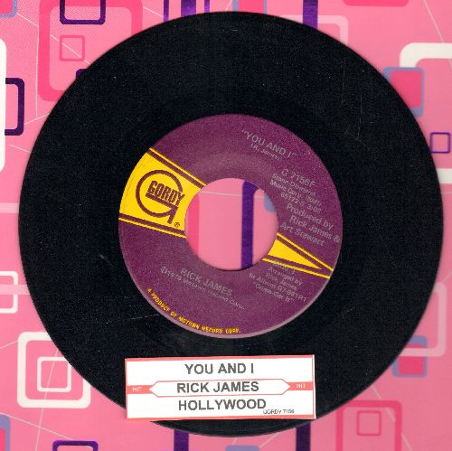 James, Rick - You And I/Hollywood  - NM9/ - 45 rpm Records