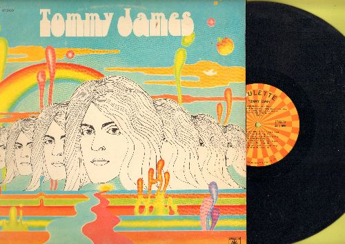 James, Tommy - Tommy James: Ball And Chain, Lady Jane, Quick Silver, Light Of Day, Midnight Train (vinyl STEREO LP record) - EX8/EX8 - LP Records