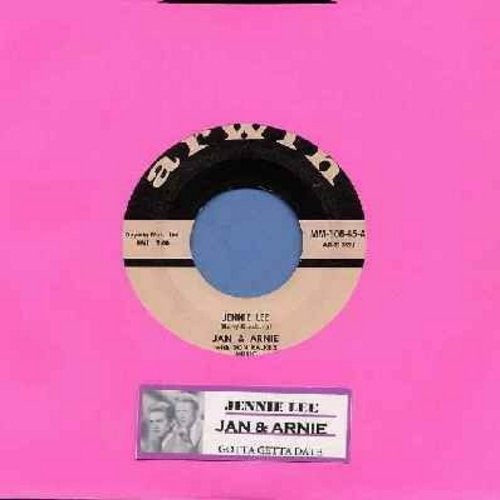 Jan & Arnie - Jennie Lee/Gotta Getta Date (with juke box label) - VG6/ - 45 rpm Records