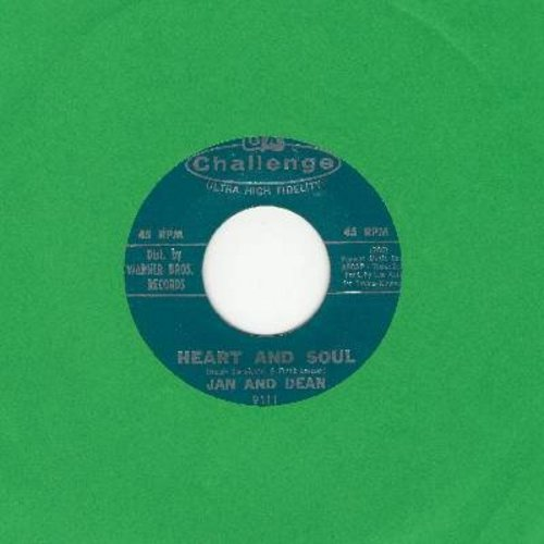Jan & Dean - Heart And Soul (FANTASTIC Surf-Sound!)/Midsummer Night's Dream (with juke box label) - VG7/ - 45 rpm Records