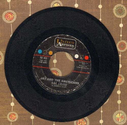 Jay & The Americans - She Cried/Dawning  - EX8/ - 45 rpm Records