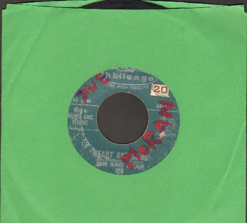 Jan & Dean - Heart And Soul (FANTASTIC Surf-Sound!)/Midsummer Night's Dream (wol) - VG6/ - 45 rpm Records