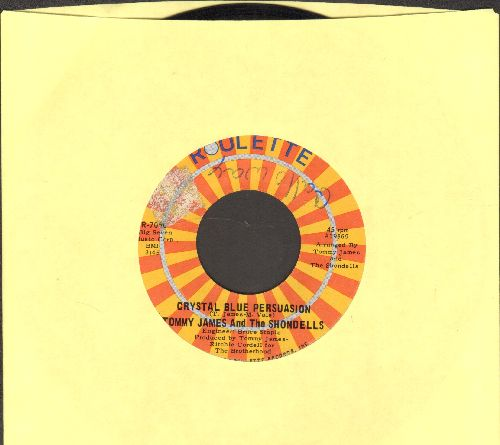 James, Tommy & The Shondells - Crystal Blue Persuasion/I'm Alive (mibor wol) - NM9/ - 45 rpm Records