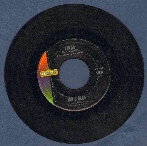 Jan & Dean - Linda (Li-Li-Li-Li-Li-Lin-Da)/When I Learn How To Cry  - EX8/ - 45 rpm Records