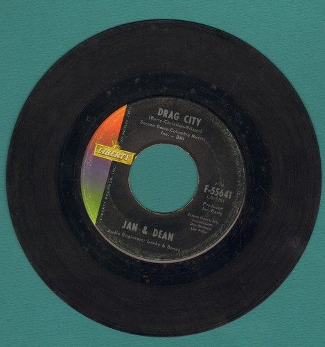 Jan & Dean - Drag City/Schlock Rod (Part 1)  - VG7/ - 45 rpm Records