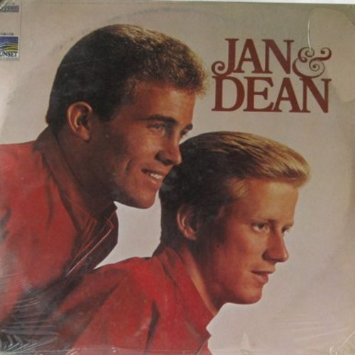 Jan & Dean - Jan & Dean: Poor Little Puppet, Who Put The Bomp, She's My Summer Girl, Walk On The Wild Side, A Surfer's Dream (Vinyl STEREO LP record, SEALED, never opened) - SEALED/SEALED - LP Records