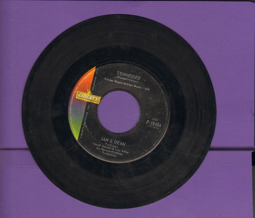 Jan & Dean - Tennessee/Your Heart Has Changed Its Mind - VG7/ - 45 rpm Records
