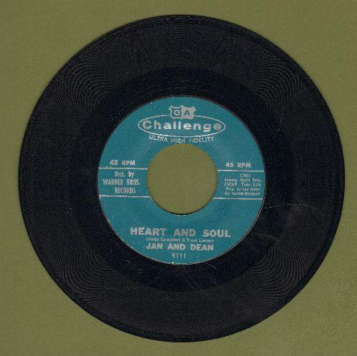 Jan & Dean - Heart And Soul (FANTASTIC Surf-Sound!)/Midsummer Night's Dream  - EX8/ - 45 rpm Records