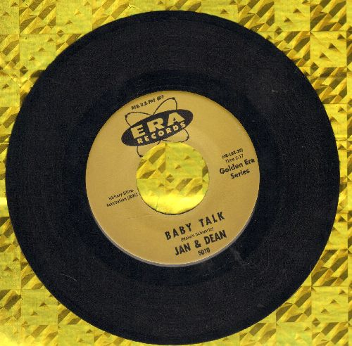 Jan & Dean - Baby Talk/Jeannette, Get Your Hair Done (authentic-looking early re-issue) - EX8/ - 45 rpm Records