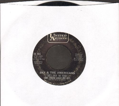 Jay & The Americans - Let's Lock The Door (And Throw Away The Key)/I'll Remember You  - VG7/ - 45 rpm Records