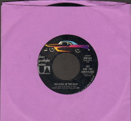 Jay & The Americans - Walking In The Rain/This Magic Moment (double-hit re-issue) - M10/ - 45 rpm Records