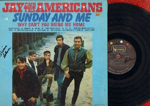 Jay & The Americans - Sunday And Me: Granada, Crying, 'Til, Maria, Good Lovin', Chilly Winds (Vinyl MONO LP record, minor wol/woc) - NM9/NM9 - LP Records