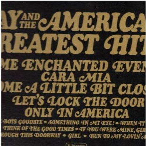 Jay & The Americans - Greatest Hits!: Cara Mia, Come A Little Bit Closer, Some Enchanted Evening, Let's Lock The Door, Goodbye Boys Goodbye (Vinyl LP record) - NM9/VG7 - LP Records