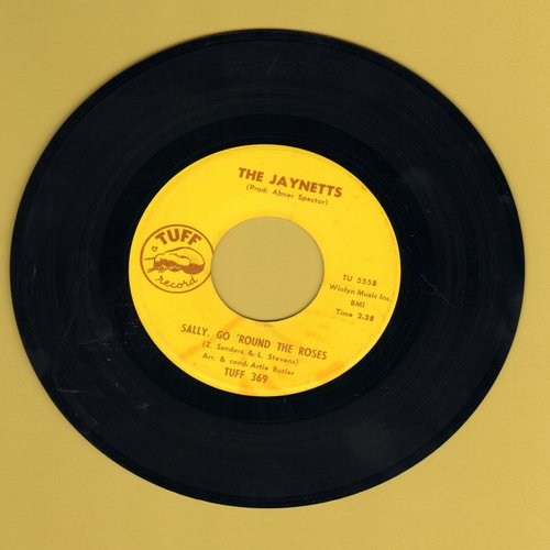 Jaynetts - Sally, Go 'Round The Roses/Instrumental sing-along version of hit  - VG7/ - 45 rpm Records
