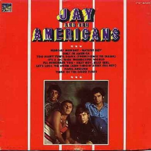 Jay & The Americans - Jay & The Americans: Monday Monday, I'll Remember You, Nature Boy, Let's Lock The Door (And Throw Away The Key), Only In America (Vinyl STEREO LP record) - NM9/EX8 - LP Records