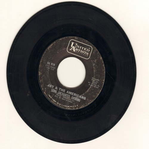 Jay & The Americans - Some Enchanted Evening/Girl - VG7/ - 45 rpm Records