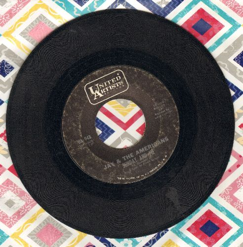 Jay & The Americans - Sunday And Me/Through This Doorway - VG7/ - 45 rpm Records