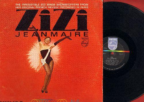 Jeanmarie, Zizi - Zizi: La Cervelle, Toto L'aristo, Mon Bonhomme, La Gambille (Vinyl MONO LP record, US Pressing, sung in French) - NM9/VG7 - LP Records