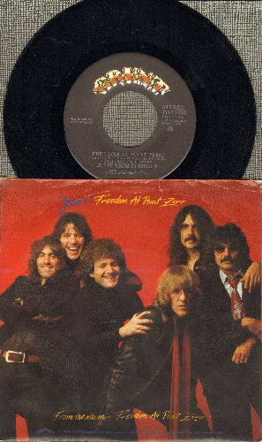 Jefferson Starship - Light The Sky On Fire/Hyperdrive (with picture sleeve) - NM9/EX8 - 45 rpm Records
