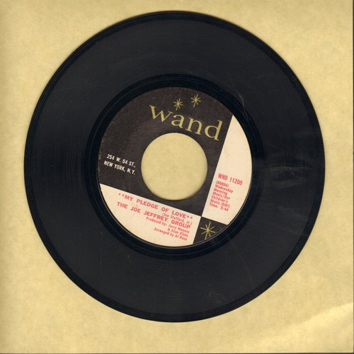 Jeffrey, Joe Group - My Pledge Of Love/Margie - NM9/ - 45 rpm Records