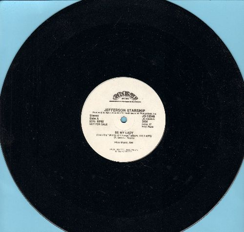 Jefferson Starship - Be My Lady (RARE one-sided 12 inch 33 rpm Single, DJ Promo Pressing) - NM9/ - Maxi Singles