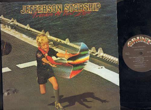 Jefferson Starship - Freedom At Point Zero: Jane, Awakening, Things To Come, Girl With The Hungry Eyes (Vinyl STEREO LP record, gate-fold cover) - NM9/EX8 - LP Records