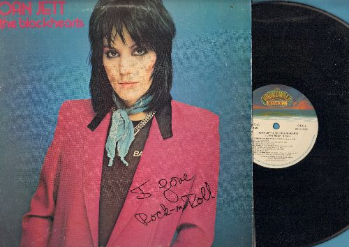 Jett, Joan & The Blackhearts - I Love Rock & Roll: Crimson And Clover, (I'm Gonna) Run Away, Bits And Pieces, Little Drummer Boy (vinyl STEREO LP record) - NM9/EX8 - LP Records