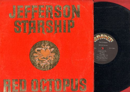 Jefferson Starship - Red Octopus: Fast Buck Freddie, Sweeter Than Honey, Play On Love, There Will Be Love (vinyl STEREO LP record) - EX8/EX8 - LP Records