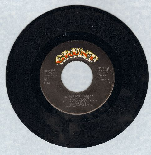 Jefferson Starship - Play On Love/I Want To See Another World - EX8/ - 45 rpm Records