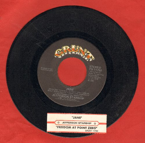 Jefferson Starship - Jane/Freedom At Point Zero (with juke box label) - NM9/ - 45 rpm Records