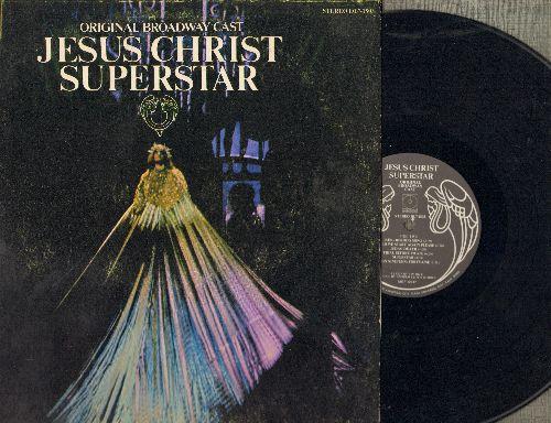 Original Broadway Cast - Jesu Christ Superstar -Original Broadway Cast Recording (vinyl STEREO LP record, date-fold cover) - NM(/VG7 - LP Records