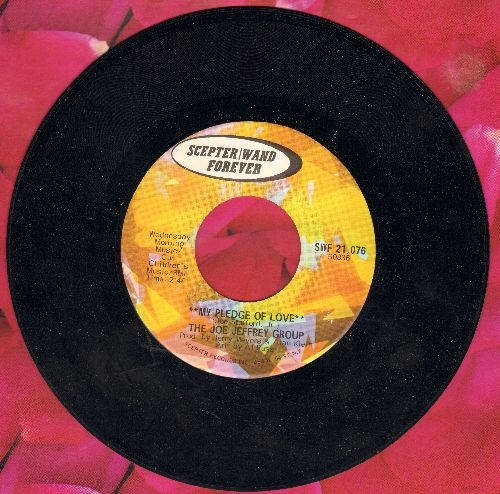 Jeffrey, Joe Group - My Pledge Of Love/My Baby Loves Lovin' (early double-hit re-issue) - M10/ - 45 rpm Records