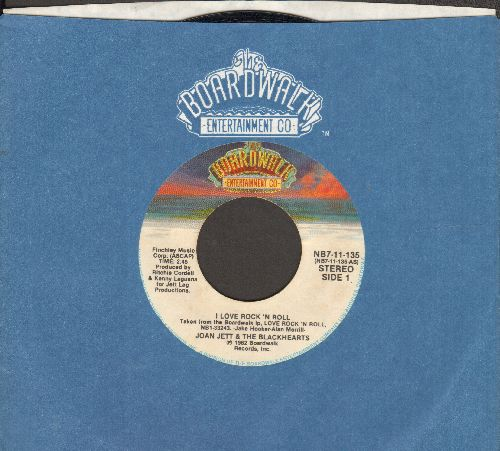 Jett, Joan & The Blackhearts - I Love You Love/You Don't now What You've Got (with Boardwalk company sleeve) - NM9/ - 45 rpm Records