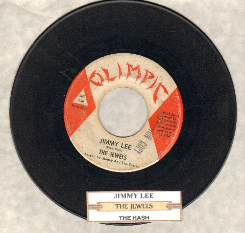Jewels - Jimmy Lee/The Hash (DJ advance pressing with juke box label) - VG6/ - 45 rpm Records