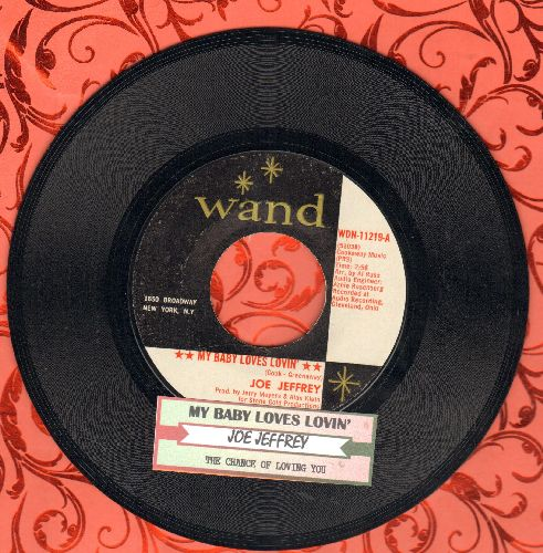 Jeffrey, Joe Group - My Pledge Of Love/Margie (with juke box label) - EX8/ - 45 rpm Records