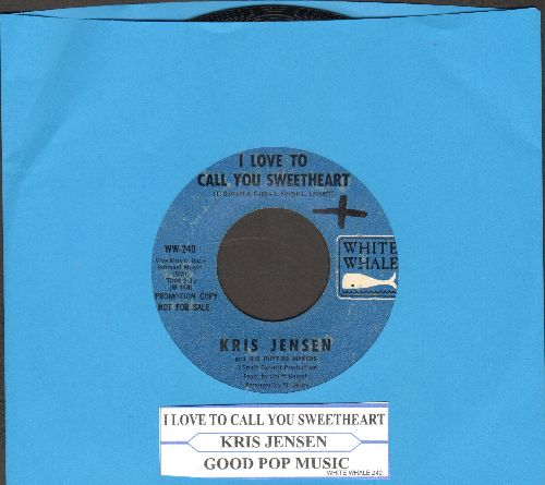 Jensen, Kris - I Love To Call You Sweetheart/Good Pop Music (unique 1960s imitations of 1920s Flapper-Sound!)(with juke box label) - NM9/ - 45 rpm Records
