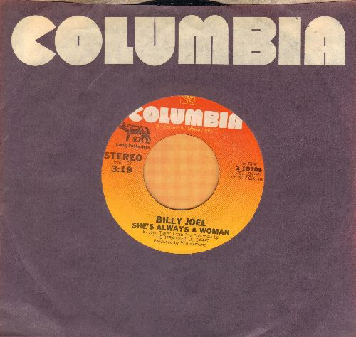 Joel, Billy - She's Always A Woman/Vienna (with Columbia company sleeve) - NM9/ - 45 rpm Records