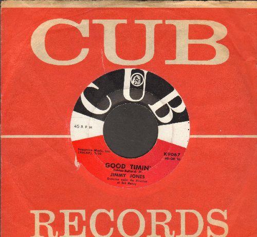 Jones, Jimmy - Good Timin'/My Precious Angel (with RARE Cub company sleeve) - NM9/ - 45 rpm Records