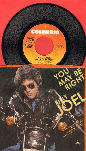 Joel, Billy - You May Be Right/Close To The Borderline (with picture sleeve) - NM9/EX8 - 45 rpm Records