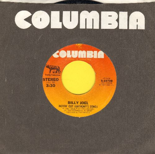 Joel, Billy - Movin' Out (Anthony's Song)/Everybody Has A Dream (with Columbia company sleeve) - NM9/ - 45 rpm Records