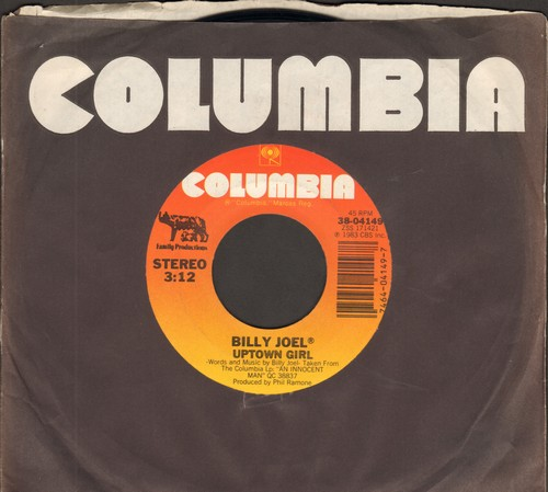 Joel, Billy - Uptown Girl/Careless Talk  - NM9/ - 45 rpm Records