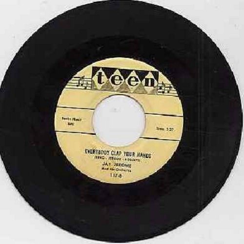 Jerome, Jay - Everybody Clap Your Hands/I Surrender - EX8/ - 45 rpm Records