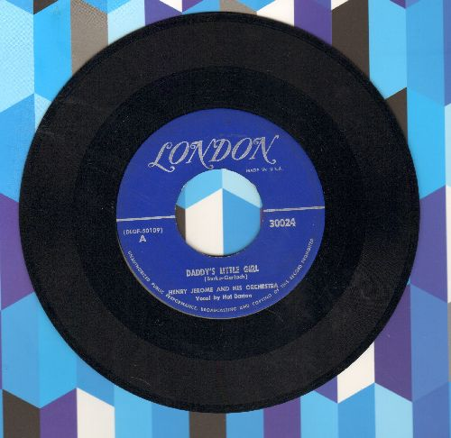 Jerome, Henry & His Orchestra - Daddy's Little Girl (vocal by Hal Barton)/Souvenir (vocal by Eleanor Russell - EX8/ - 45 rpm Records